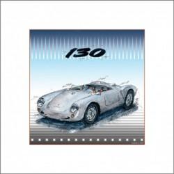 Leslie G. Hunt Original Bild Giclee Porsche 550 kaufen