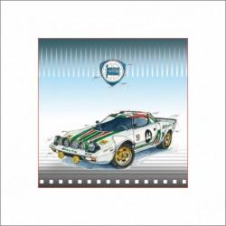 Leslie Hunt Bilder kaufen Original Lancia Stratos Giclee