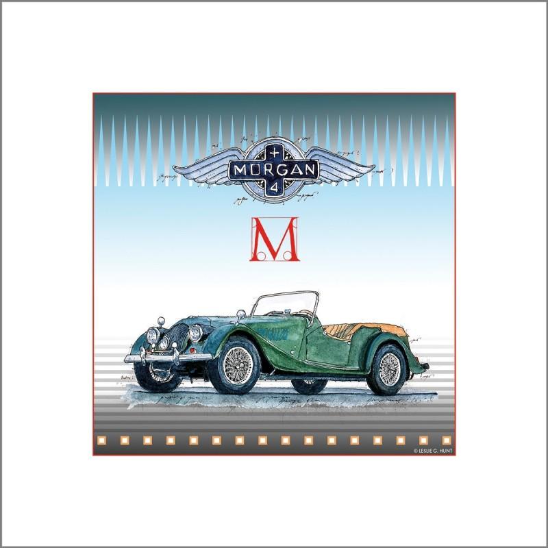 Leslie Hunt Bilder kaufen Original Morgan 4x4 Giclee