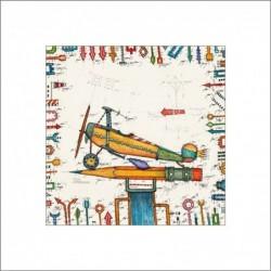 Leslie Hunt Bilder kaufen Original Flugschreiber Giclee