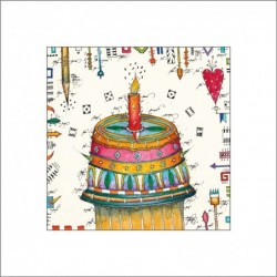 "Leslie Hunt Bilder kaufen Original ""Happy Birthday"" Giclee"