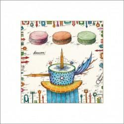 """Leslie Hunt Bilder kaufen Original """"Macaron"""" Giclee"""