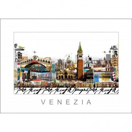 "Leslie Hunt Bilder kaufen Original ""Venezia"" Venedig Giclee"