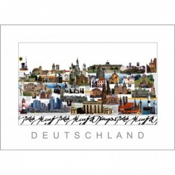 """Leslie Hunt Bilder kaufen Original """"Deutschland"""" Giclee"""