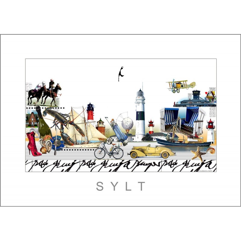 "Leslie Hunt Bilder kaufen Original ""Sylt"" Giclee"