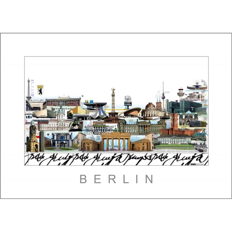 "Leslie Hunt Bilder kaufen Original ""Berlin"" Giclee"