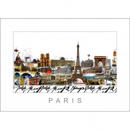 """Leslie Hunt Bilder kaufen Original """"Paris"""" Giclee"""
