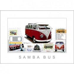 "Leslie Hunt Bilder kaufen Original ""Samba VW Bus"" Giclee"