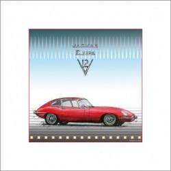 "Leslie Hunt Bilder kaufen Original ""Jaguar E Type"" Giclee"
