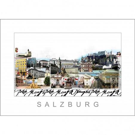 """Leslie Hunt Bilder kaufen Original """"Salzburg"""" Giclee"""