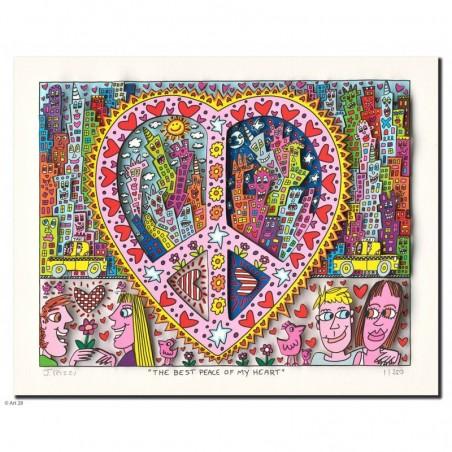 James Rizzi Bilder 3D ~ The best peace of my heart