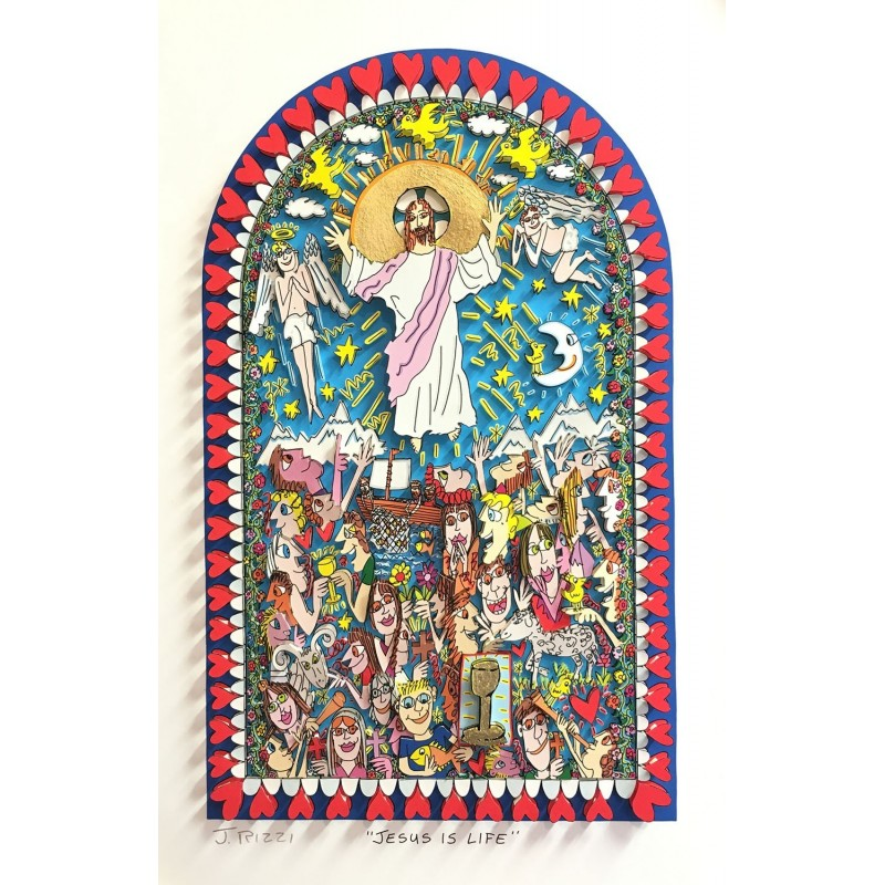 james-rizzi-jesus-is-life