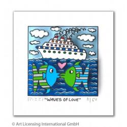 James Rizzi - Waves Love