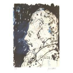 Armin Mueller-Stahl * Mozart-die kleine Nachtmusik handsigniertes Original Kunst Bild kaufen