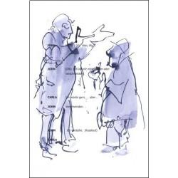 Armin Mueller-Stahl * Ich würde gern ... handsigniertes Original Kunst Bild kaufen