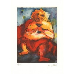 Armin Mueller-Stahl * Bacchus handsigniertes Original Kunst Bild kaufen