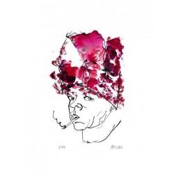 Armin Mueller-Stahl * Charity Lady handsigniertes Original Kunst Bild kaufen