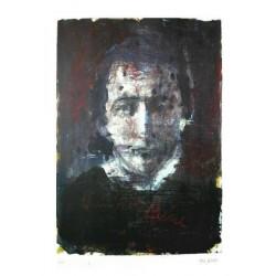 Armin Mueller-Stahl * Heinrich Heine handsigniertes Original Kunst Bild kaufen
