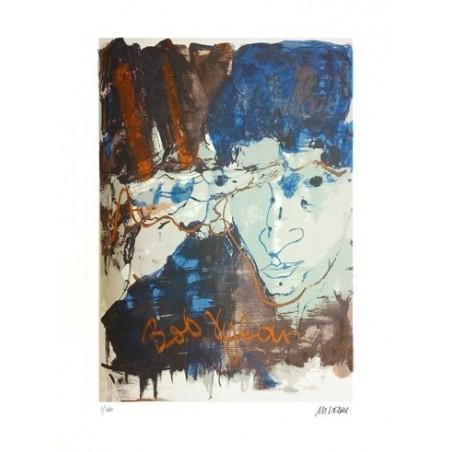 Armin Mueller-Stahl * Bob Dylan handsigniertes Original Kunst Bild kaufen