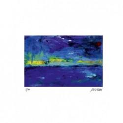 Armin Mueller-Stahl * Sonnenaufgang am Meer handsigniertes Original Kunst Bild kaufen
