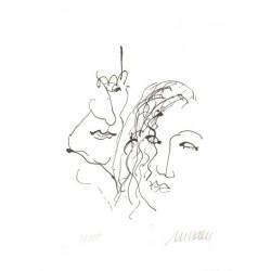 Armin Mueller-Stahl * Orpheus und Eurydike handsigniertes Original Kunst Bild kaufen