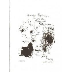 Armin Mueller-Stahl * Harry Potter handsigniertes Original Kunst Bild kaufen