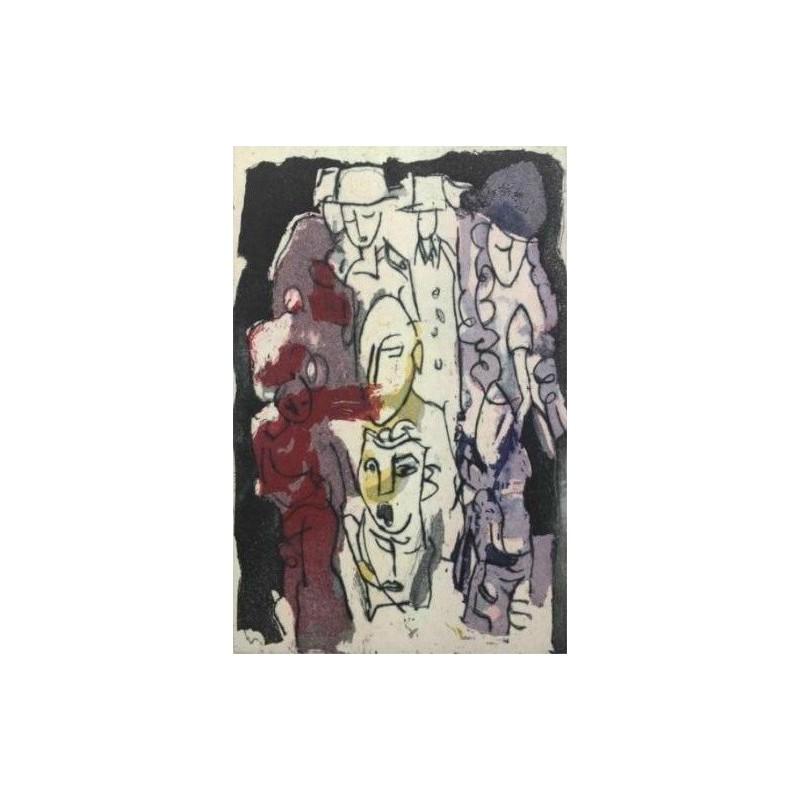 Armin Mueller-Stahl * Gesichter der Großstadt handsigniertes Original Kunst Bild kaufen