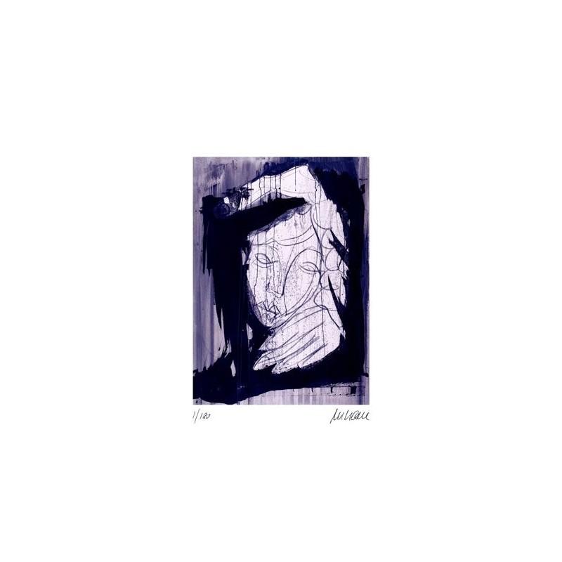 Armin Mueller-Stahl * Es gibt Tage ... handsigniertes Original Kunst Bild kaufen