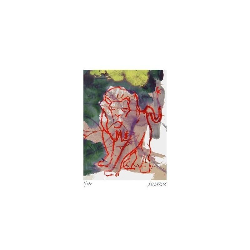 Armin Mueller-Stahl * Königlich handsigniertes Original Kunst Bild kaufen