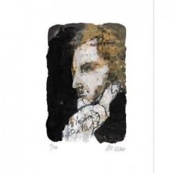 Armin Mueller-Stahl * Friedrich Schiller handsigniertes Original Kunst Bild kaufen