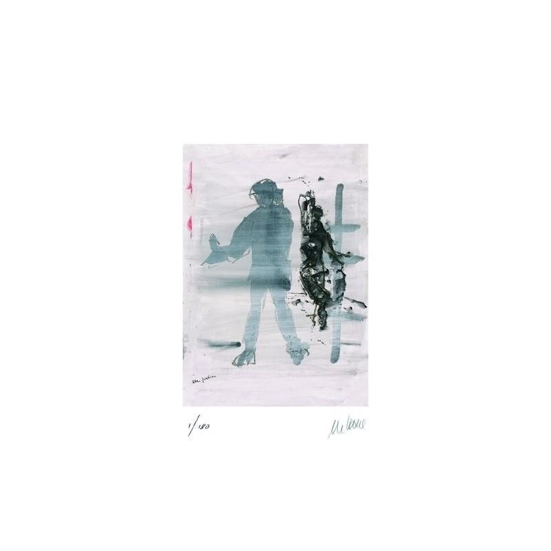 Armin Mueller-Stahl * Michael Jackson handsigniertes Original Kunst Bild kaufen