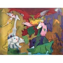 Armin Mueller-Stahl * Paradies handsigniertes Original Kunst Bild kaufen