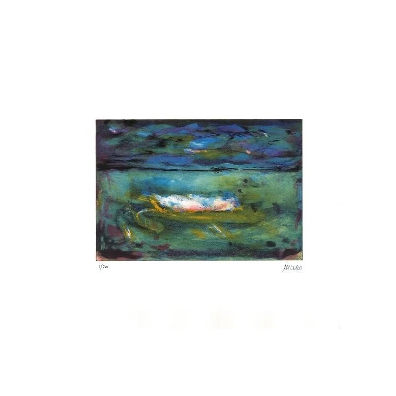Armin Mueller-Stahl * Blick in die Weite handsigniertes Original Kunst Bild kaufen