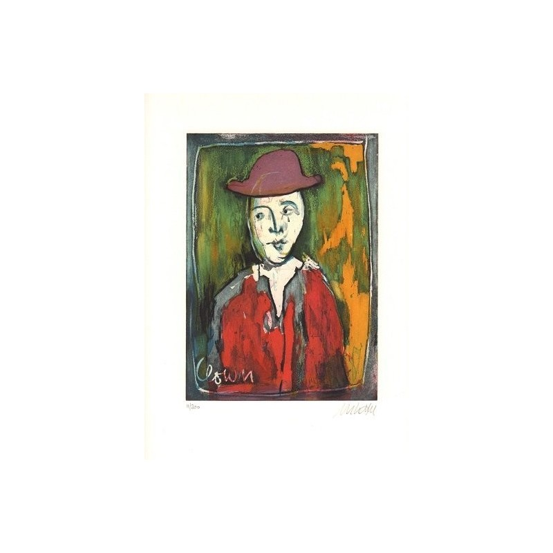 Armin Mueller-Stahl * Der Clown handsigniertes Original Kunst Bild kaufen