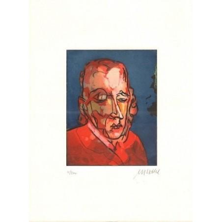 Armin Mueller-Stahl * Armer Poet handsigniertes Original Kunst Bild kaufen