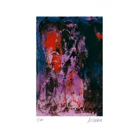 Armin Mueller-Stahl * Edith Piaf (je ne regrette rien) handsigniertes Original Kunst Bild kaufen