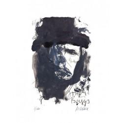 Armin Mueller-Stahl * Joseph Beuys handsigniertes Original Kunst Bild kaufen