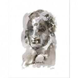 Armin Mueller-Stahl * Friedrich Hölderlin handsigniertes Original Kunst Bild kaufen