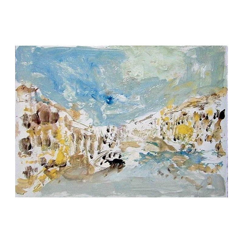Armin Mueller-Stahl * Venedig handsigniertes Original Kunst Bild kaufen