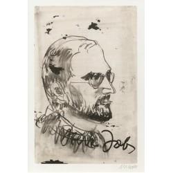 Armin Mueller-Stahl * Steve Jobs handsigniertes Original Kunst Bild kaufen