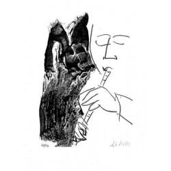 Armin Mueller-Stahl * Musica III handsigniertes Original Kunst Bild kaufen
