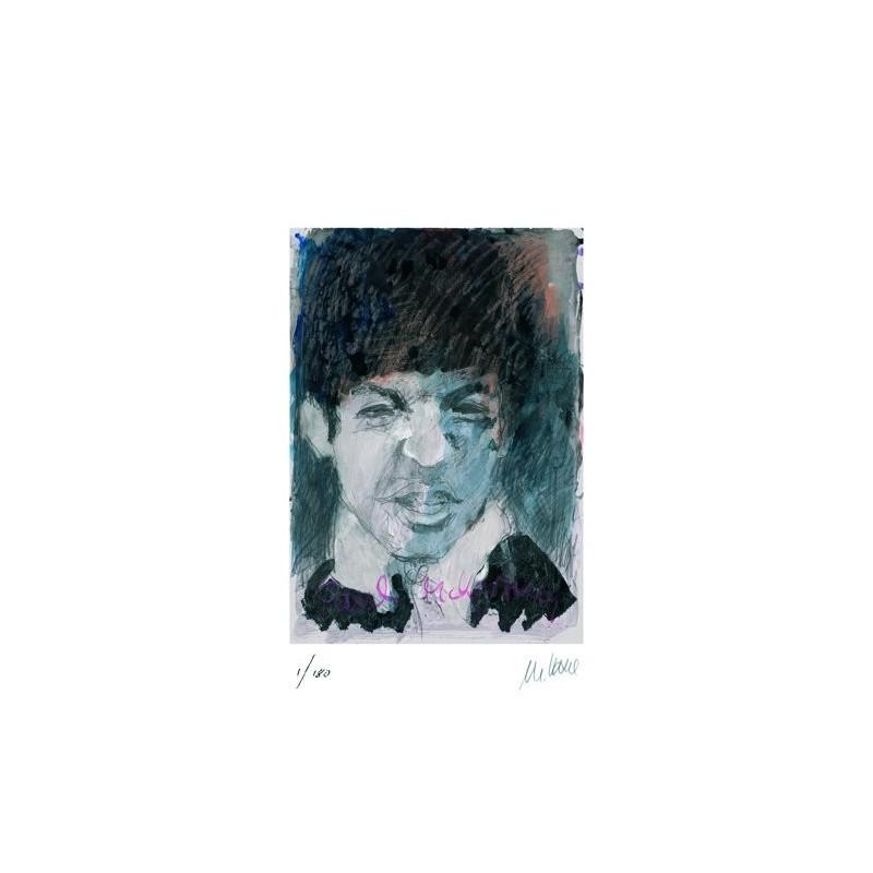 Armin Mueller-Stahl * Paul Mc Cartney handsigniertes Original Kunst Bild kaufen