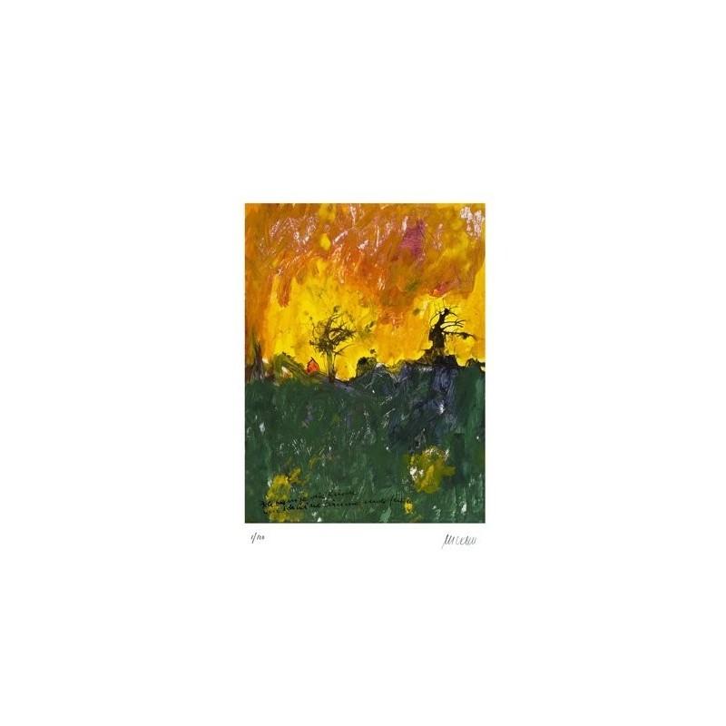 Armin Mueller-Stahl * Ich besinge die Rinde handsigniertes Original Kunst Bild kaufen