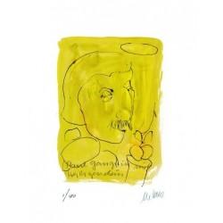 Armin Mueller-Stahl * Paul Gauguin handsigniertes Original Kunst Bild kaufen