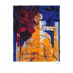 Armin Mueller-Stahl * Lavinia - Titus Andronicus handsigniertes Original Kunst Bild kaufen