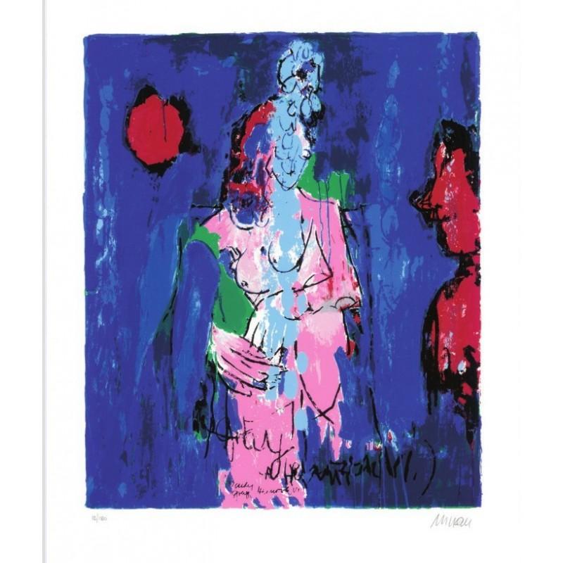 Armin Mueller-Stahl * Lady Grey - Heinrich VI. handsigniertes Original Kunst Bild kaufen