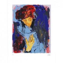 Armin Mueller-Stahl * Julia-Romeo und Julia handsigniertes Original Kunst Bild kaufen