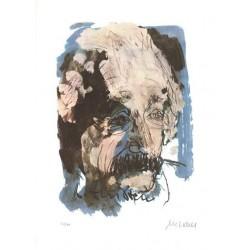 Armin Mueller-Stahl * Albert Einstein handsigniertes Original Kunst Bild kaufen