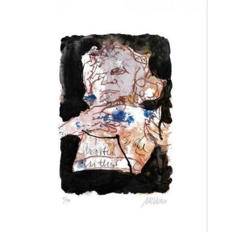 Armin Mueller-Stahl * Martin Luther handsigniertes Original Kunst Bild kaufen