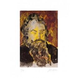 Armin Mueller-Stahl * Johannes Brahms handsigniertes Original Kunst Bild kaufen